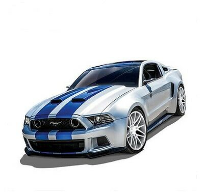 1/24 Diecast Model Speed Racing Car For Ford Mustang