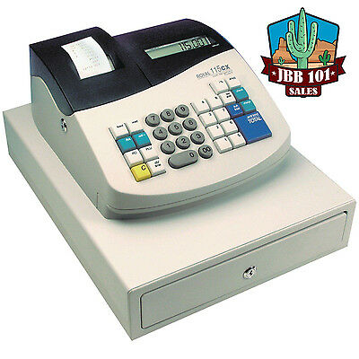 Royal Cash Register 115CX 14508P New With Warranty, Battery Powered or Plug In!