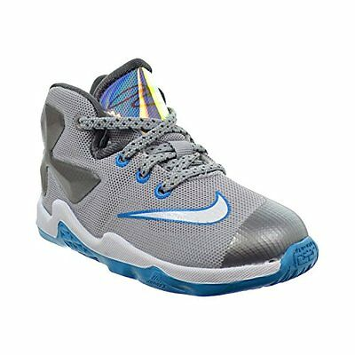 a3582015f0d5 Nike 808711-014 Lebron XIII Grey Blue Basketball Shoes Toddler Kid Size 9C