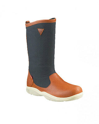 Musto HPX Damen und Herren Segelstiefel Out Dry Boot in Brown/Navy