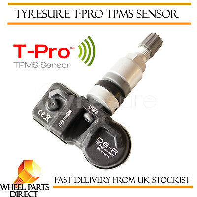TPMS Sensor (1) OE Replacement Tyre Pressure Valve for Peugeot 407 SW 2004-2006