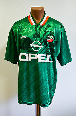 Republic Of Ireland 1994 World Cup Football Shirt Jersey Maglia Adidas Vintage