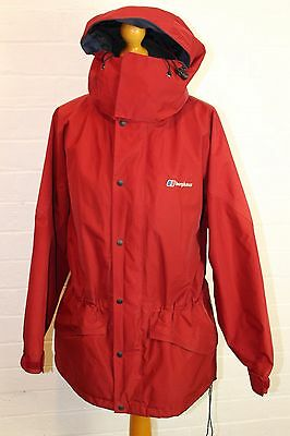 BERGHAUS Ladies GORE-TEX Red COAT / JACKET - Size UK 12 - High Performance