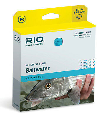 Rio Mainstream Saltwater Wf-10-F #10 Wt. Weight Forward Floating Fly Line