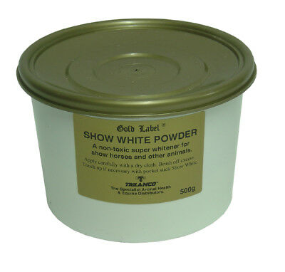 Gold Label Show White Powder - Showing