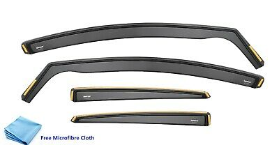 Wind Deflectors For VOLKSWAGEN VW Passat B6 B7 Visor 4-doors saloon 2005-14 4-pc