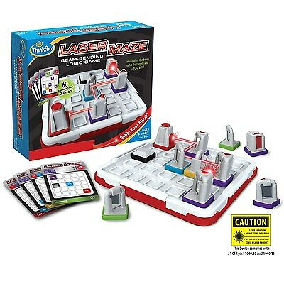 ThinkFun NEW Laser Maze Beam-Bending Logic Board Game BRAND NEW, SEALED