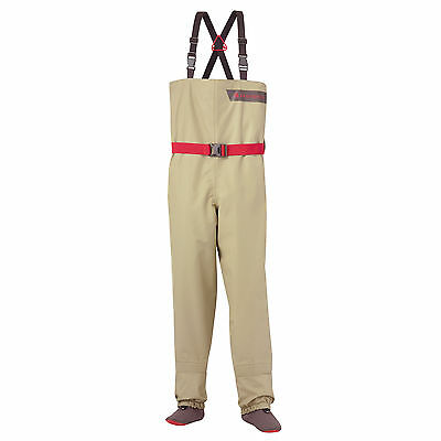 Redington Crosswater Youth Fly Fishing Kids Chest Wader Waterproof DWR Coating