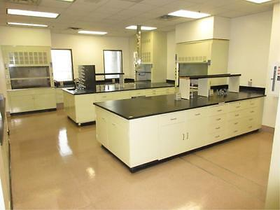 Hamilton Laboratory Cabinets, Casework & Fume Hoods, Approx. 500 Feet