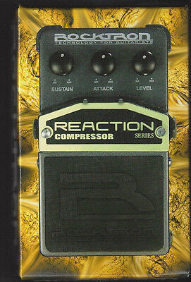 Rocktron Reaction Series Compressor Pedal (Free Shipping)