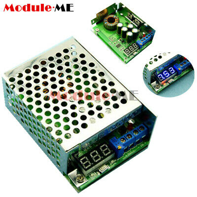 DC-DC Step-down Power Supply Converter +Case 3.5-30V to 0.8-29V 5v 12v 24v 10A M