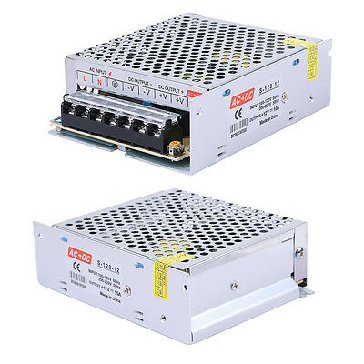HOTSYSTEM Regulated Switching Power Supply DC 12V 10A 120W For LED Strip Light