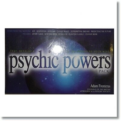 Test, Develop & Excercise Psychic Powers Pack, by Adam Fronteras