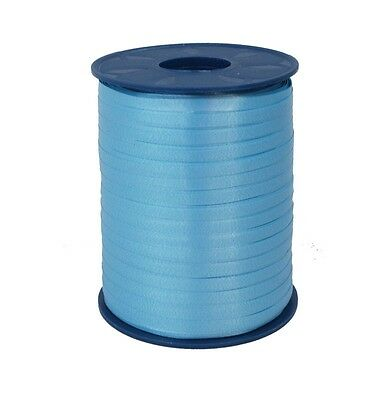 Gift Ribbon azur blue 5mm x 500m Polyband ribbon Ring tape