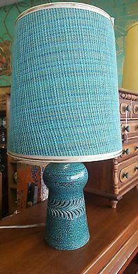 Vintage 1960's lamp Erica in the style of Bitossi