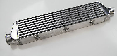 """FOR FRONT MOUNT UNIVERSAL TURBO INTERCOOLER 550MM x 136MM x 65MM 2.2"""" in/outlet"""
