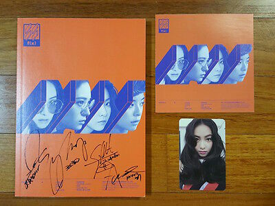 f(x) autographed 4 WALLS (Orange) PROMO CD signed 4th Album