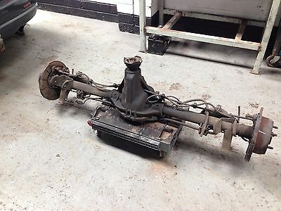 Jeep Grand Cherokee Wj 3.1 Td Rear Axle With Diff Differential