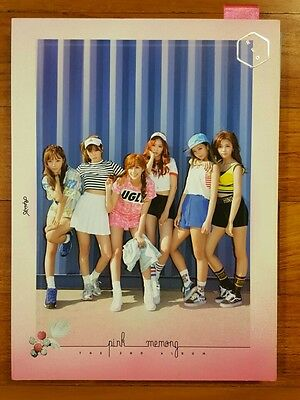 APINK autographed Pink MEMORY PROMO CD signed 2nd Album Remember