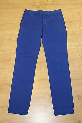 "POLO Ralph Lauren Boys Blue Chino Trousers Jeans Age 16 - Waist 30"" - Leg 30"""