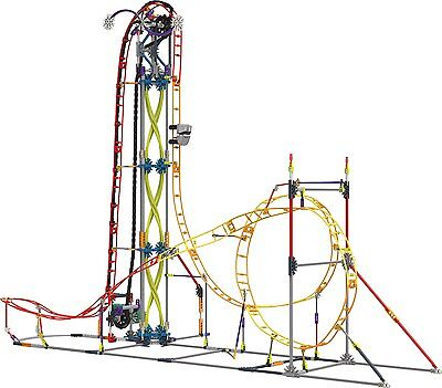 K'NEX Thrill Rides Electric Inferno Roller Coaster Building Ages 9+ New Toy Gift