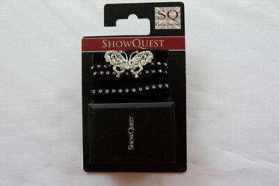 Show Quest Elastic Crystal Hat Band - Rider Wear