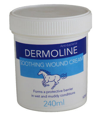Dermoline Soothing Wound Cream - 240ml - Horse Care & First Aid