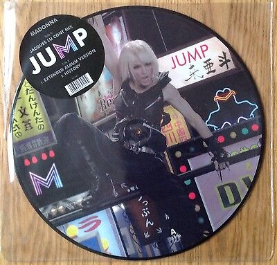 """Madonna  Jump   2006 UK 12"""" Picture Disc   N.Mint"""