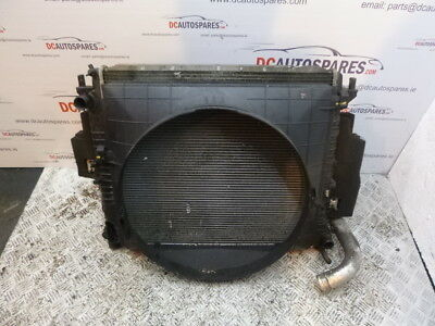 2006 Ssangyong Rodius Radiator Pack Complete With Fans