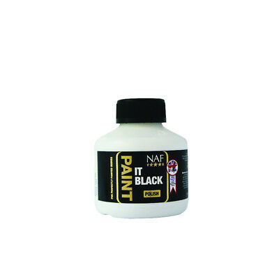 NAF Paint It Black Hoof Polish - 250ml - Showing