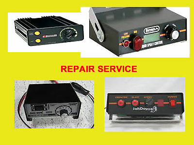 REPAIR SERVICE Fisher western buyers saltdogg snow ex salt spreader controller