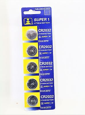5 x CR2032 SUPER Battery Lithium 3V Cell Coin Button Batteries UK SELL