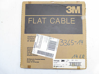 3M  3365/14SF  Flachbandkabel - RIBBON CABLE - CONDUCTOR, 28AWG, 300FT / 91,4m