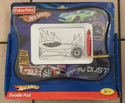 Fisher-Price Kid-Tough Doodler Hot Wheels Doodle Pad
