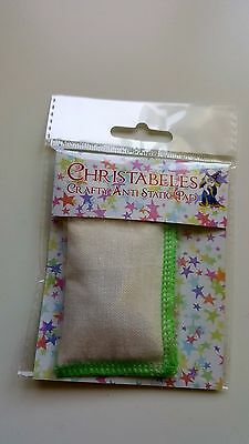 anti-static pads/bags a must have for all crafters for stamping and embossing