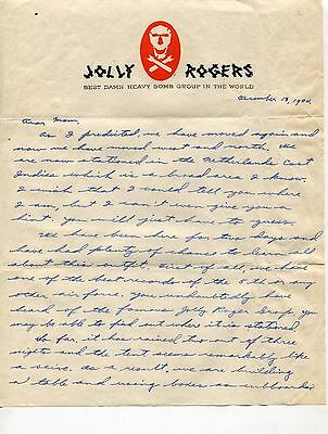 Jolly Rogers, 90th Bombardment Group Archive of Letters, World War II