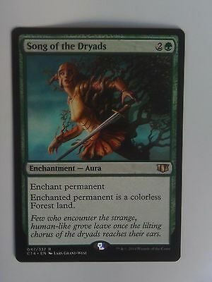 Mtg 1x Song of the Dryads (Commander 2014) english nm