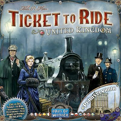 Ticket to Ride United Kingdom Board Game Expansion Pack