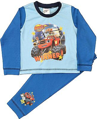 Boys Blaze and the Monster Machines Toddler Pyjamas Official Merchandise
