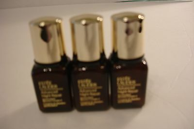 3 ESTEE LAUDER Advanced Night Repair Synchronized Recovery Complex II .24 each