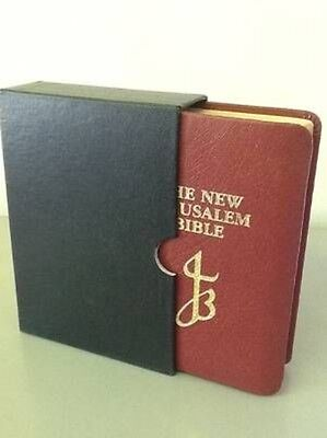 The New Jerusalem Bible by Cathi Hanauer Leather Book