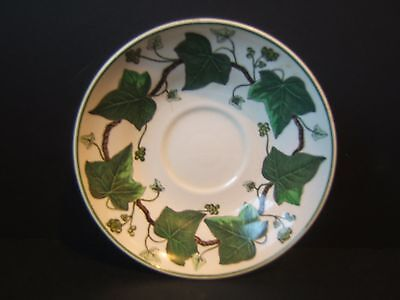 "Wedgwood Napoleon Ivy 5.5"" Saucer A L 4751 Green Queen's Ware"