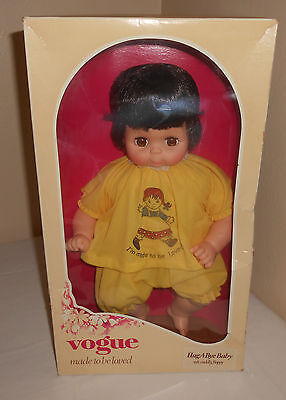 """Vintage Vogue Hug-A-Bye Baby Doll New In Box Nos 16"""""""