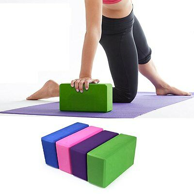 Pilates Yoga Block Foaming Foam Brick Exercise Fitness Stretching Aid Gym gt