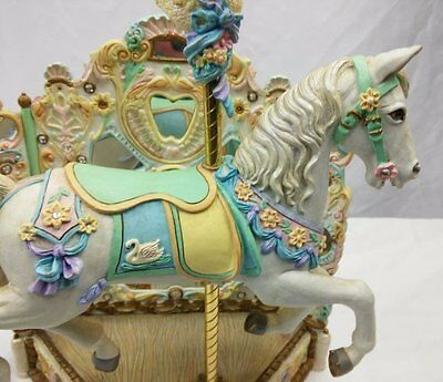 Willitts Designs Carousel Memories French Musical Carousel With Swan Jumper