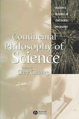 Continental Philosophy of Science by Gutting Paperback Book (English)