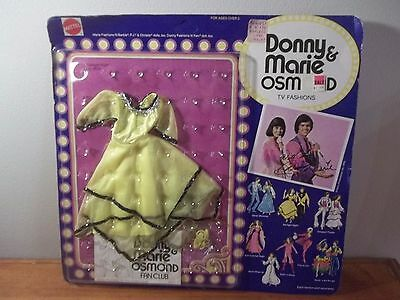 Nib Vintage 1976 Donny & Marie Osmond T.v. Fashions Starlight Night #9820 Sealed