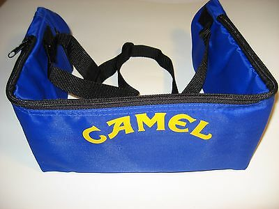 Joe Camel Belt Pack Cold Sack / 6pk 8 oz Water Soda Beverage Holder Collectible