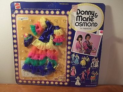 Nib Vintage 1976 Donny & Marie Osmond Tv Fashions South 'o The Border #9818 Nib