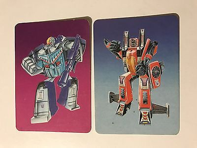 Transformers Series 1 1985 Australian version Hasbro Trading Cards Lot of 195